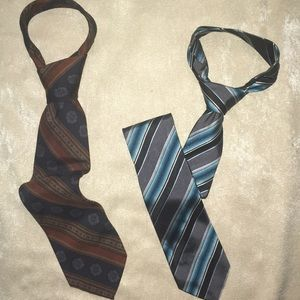 Two Ties Polo by Ralph Lauren & Geoffrey Beene